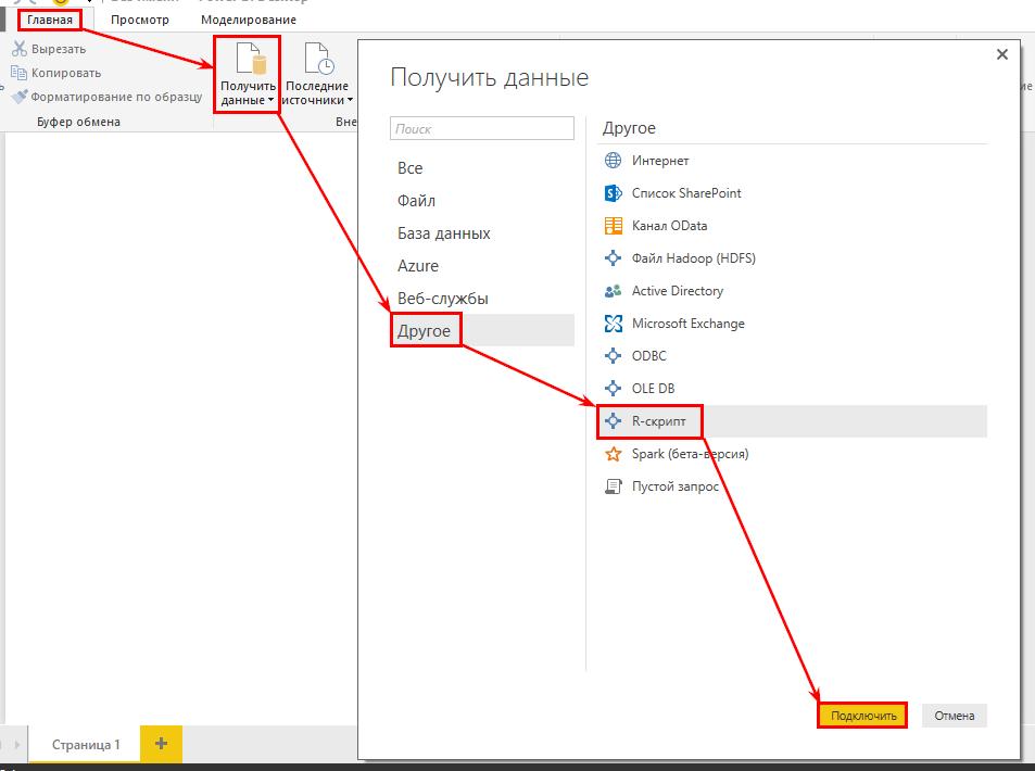 Как визуализировать сырые данные в Microsoft Power BI