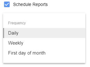 Как выбрать параметры для автообновления отчета в дополнении Google Ads