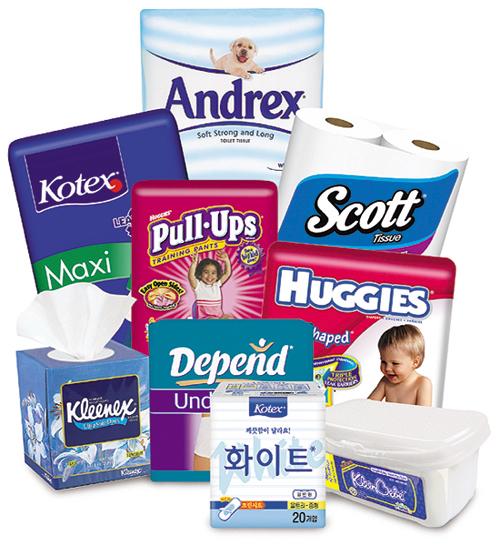 развитие брендов «Huggies», «Kleenex» и «Kotex»