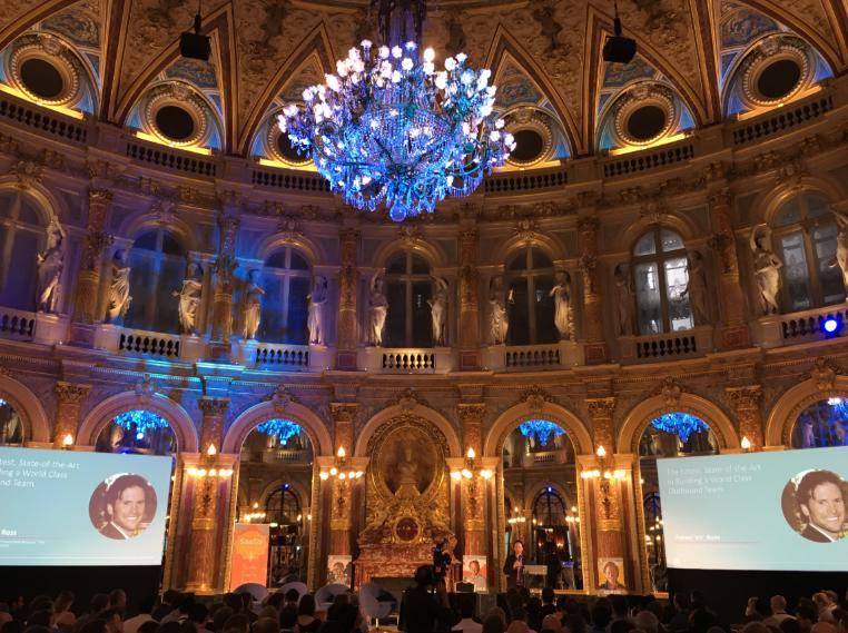Конференция проходила в одном из самых старых отелей Парижа — InterContinental Grand Hotel