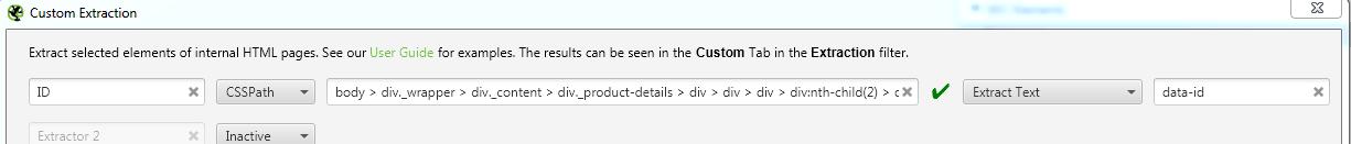 Дописваме след края на кода >a и добавяме атрибут data-id