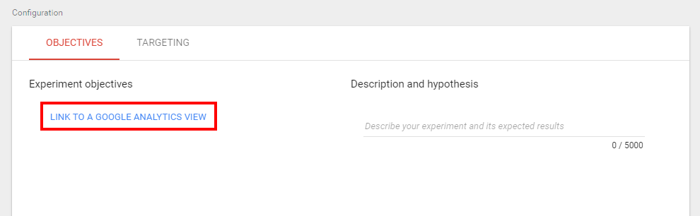 Link to a Google Analytics view