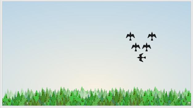 Игра Lost in migration — тренажер скорости реакции