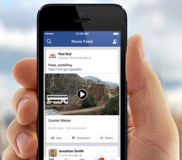 Мидролл — вставка рекламного видео в середине обычного видеоролика в ленте пользователя Facebook