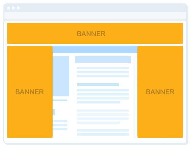 multi floating interstitial banner