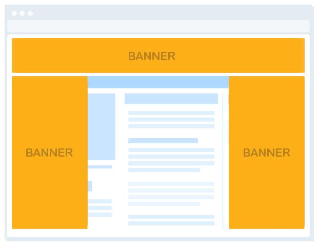 multi floating interstitial banner