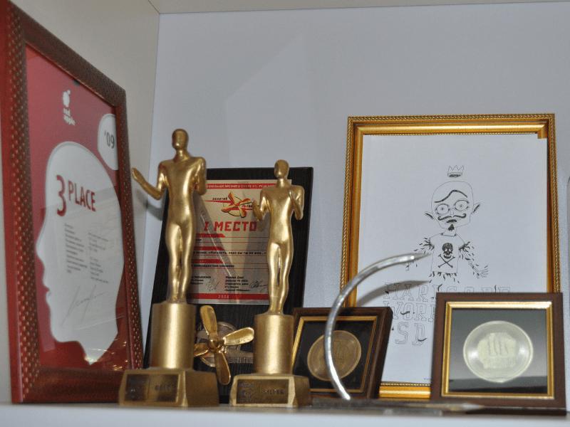 Награды Ивана Сияка