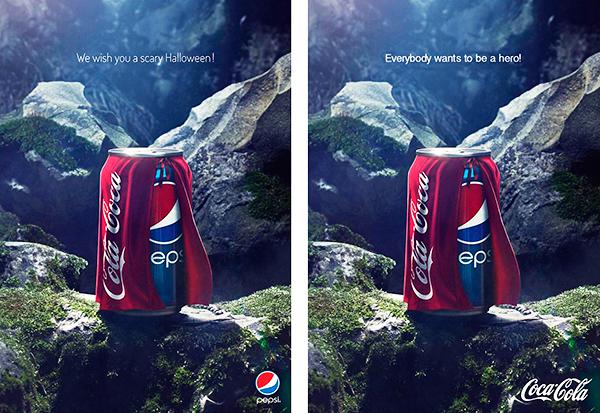 Pepsi-Coke brand war