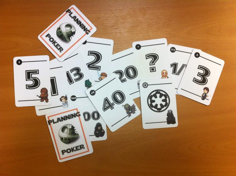 Есть довольно быстрый и точный способ сбора оценок. Он называется «покер планирования»