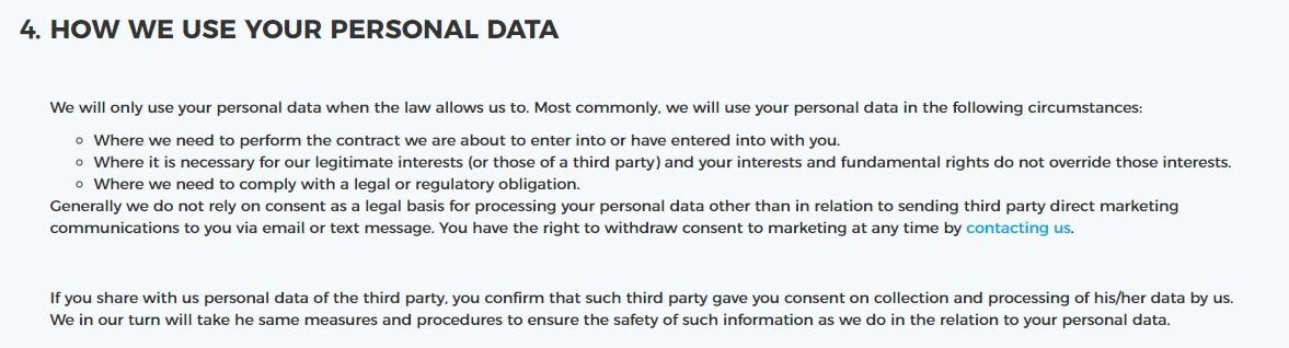 Политика конфиденциальности Netpeak