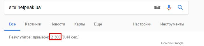 проверить индексацию всего сайта