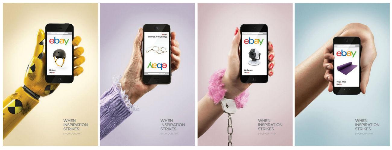 Работа креативного агенства Leo Burnett для приложения Ebay