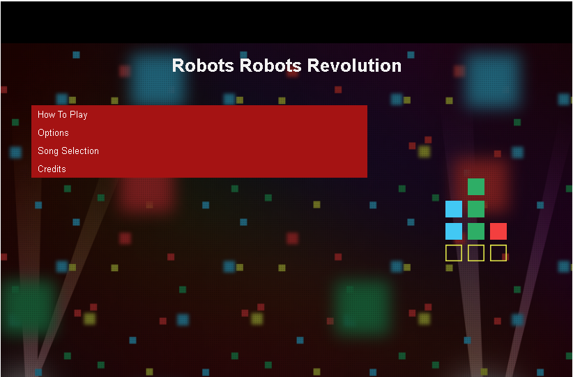 robots.txt со встроенной игрой и музыкальным сопровождением
