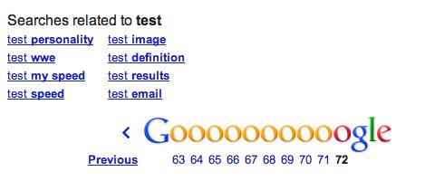 """Последняя страница поиска по запросу """"test"""""""