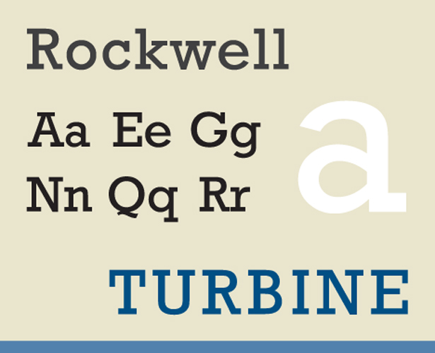 Such typefaces as Baltica, Courier, Rockwell are leaders in terms of readability