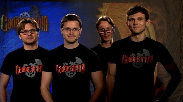 Gutenbergz team: Dmitriy Krivoshey, Vladimir Usov, Evgeniy Krugljak, Ivan Filimonov.