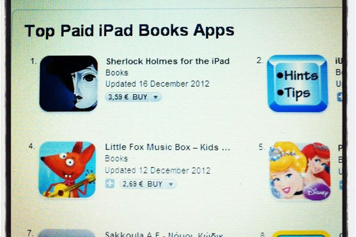In the AppStore Top