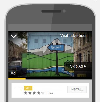 Video Advertising on YouTube for iOS and Android in Google AdWords