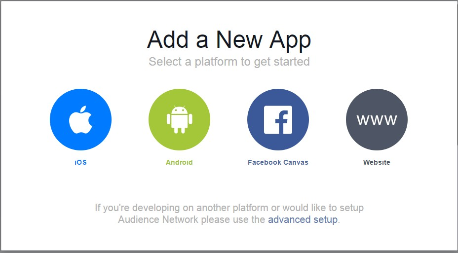 Advertising Mobile Application for iOS and Android on Facebook