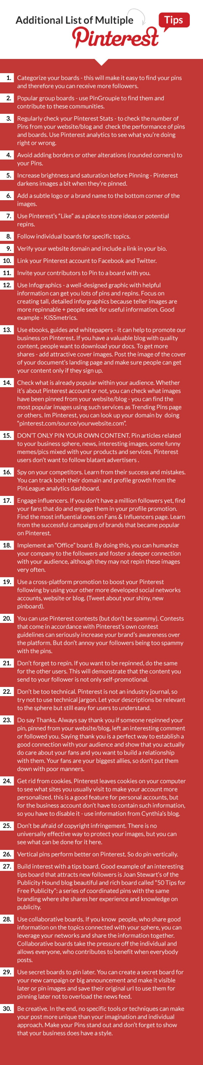 Top Pinterest Tips For Your Marketing Strategy