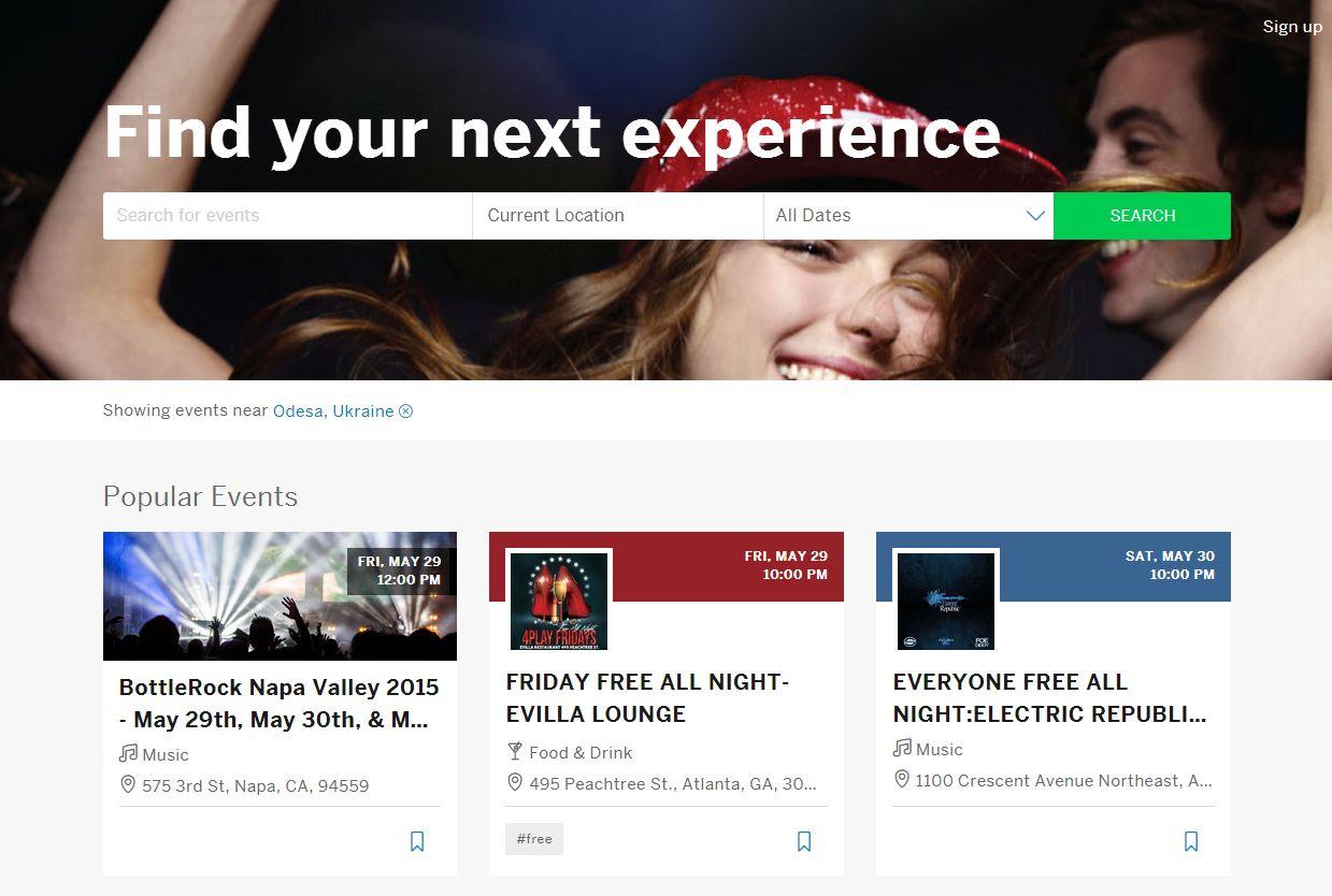 За организацията на мероприятия ще ви бъде полезна услугата EventBrite