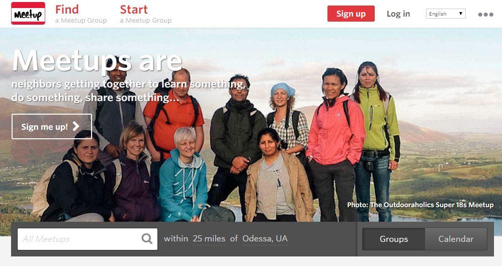 Зад граница има множество интересни мероприятия офлайн, например Creative Mornings и Meetups