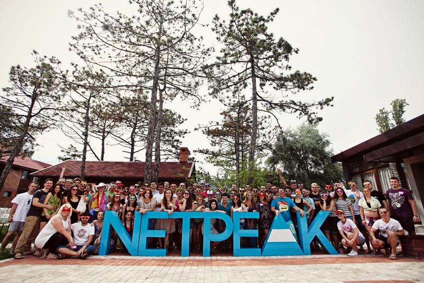 Екип на Netpeak празнува рожден ден на компанията