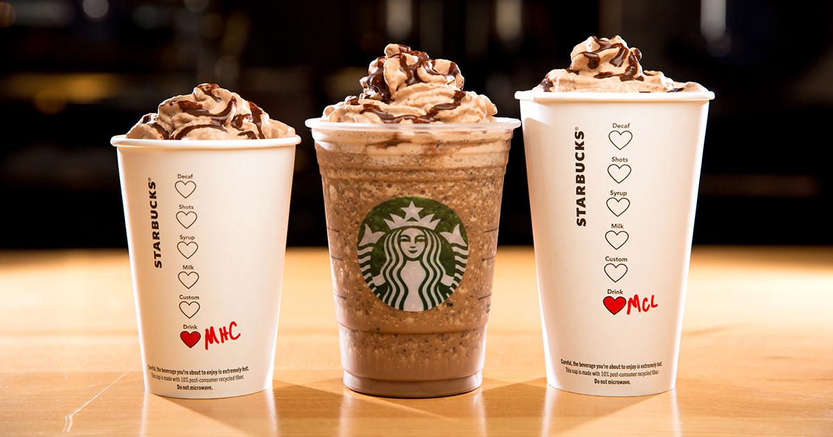 Залог успеха Starbucks — высокий процент довольных клиентов (89%)