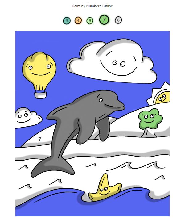 Tablertd пример креативной email-рассылки письмо-раскраска