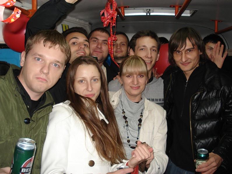 Праздник в трамвайчике