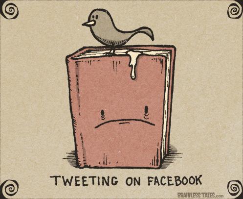 твиты на фейсбуке