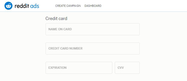 Указываем платежные данные