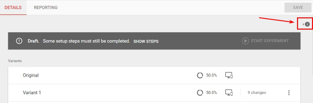 Установите код Optimize с помощью Google Tag Manager