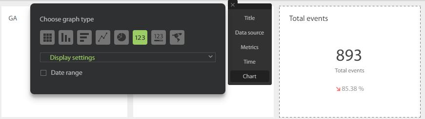 Виды визуальных элементов в DataDeck