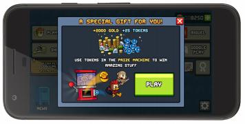 Всплывающее окно для пользователей которые планируют покинуть игру