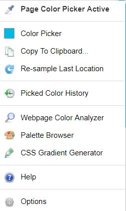 Выбираем цвет любого элемента страницы