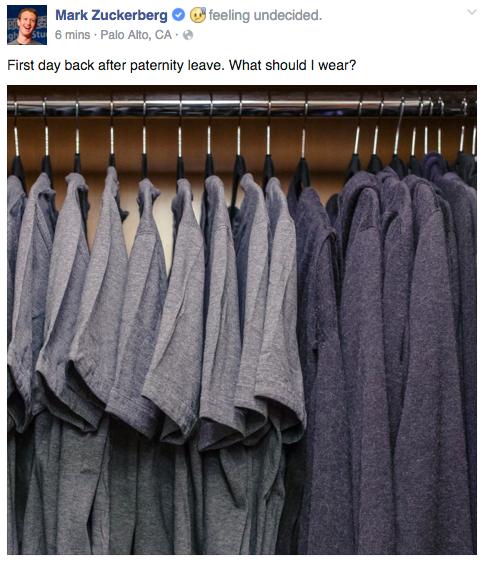 Серые футболки Цукерберга